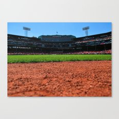 From Centerfield - Boston Fenway Park, Red Sox Canvas Print