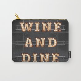 Wine and Dine - Bulb Carry-All Pouch
