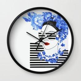 Summer Sailor Fashion Style Wall Clock