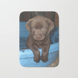 Labrador puppy Bath Mat