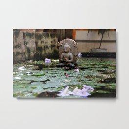Water Buda. Metal Print