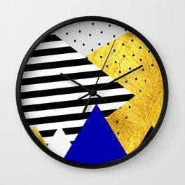 fall abstraction #3 Wall Clock