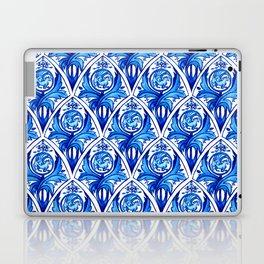 Renaissance gryphon seamless pattern Laptop & iPad Skin