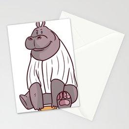 Baseball Pitcher Gift Sport Catcher Batter Stationery Cards