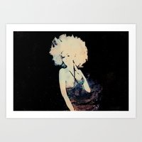 et Art Prints featuring ET by  Maʁϟ