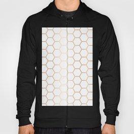 Honeycomb Rose Gold #372 Hoody
