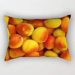 Apricots Pattern Rectangular Pillow