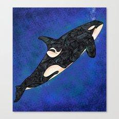 Killer Whale Canvas Print