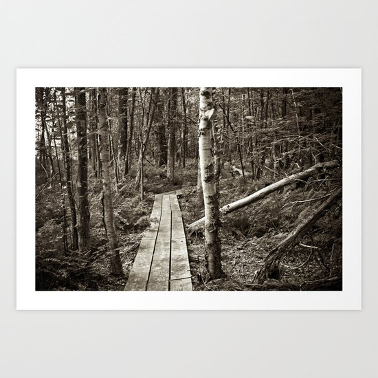 Let's Explore the World Together Art Print