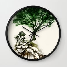 'In the rhythm of nature' Wall Clock