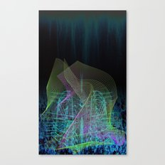LInes 1 Canvas Print