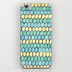 Watercolour Honeycomb Tank Top iPhone & iPod Skin
