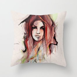 Beauty is Power Throw Pillow