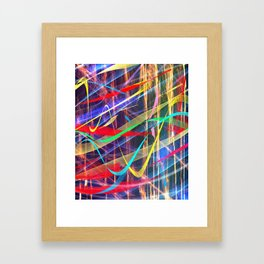 Silent Waves Framed Art Print