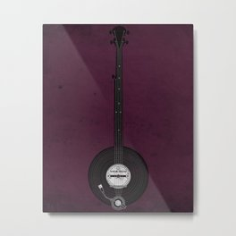 Banjo Beats Metal Print