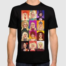 Katya Zamolodchikova T-Shirt  Mens Fitted Tee Black X-LARGE
