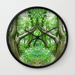 Wizard's Arch Wall Clock