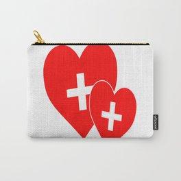 NURSE THE HARDEST JOB YOU'LL EVER LOVE Carry-All Pouch
