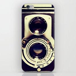Retro camera iPhone Skin