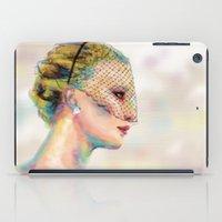 jennifer lawrence iPad Cases featuring Jennifer Lawrence by Pandora's Box Design Co.