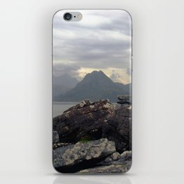 cuillin hills from elgol. iPhone Skin
