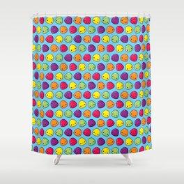 Gumdrops Pattern Shower Curtain
