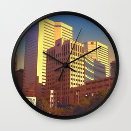 In Love With Montreal Wall Clock