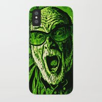 scream iPhone & iPod Cases featuring SCREAM! by Silvio Ledbetter