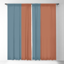 Parable to Behr Blueprint Color of the Year and Accent Colors Vertical Stripes 25 Blackout Curtain