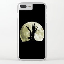 Death God Clear iPhone Case