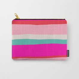 Candy Stripe Christmas Carry-All Pouch