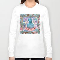 holographic Long Sleeve T-shirts featuring lady cakes by STORMYMADE