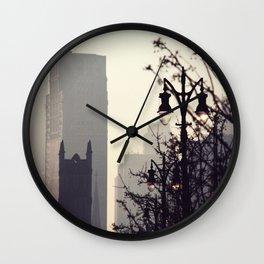 Foggy day Wall Clock