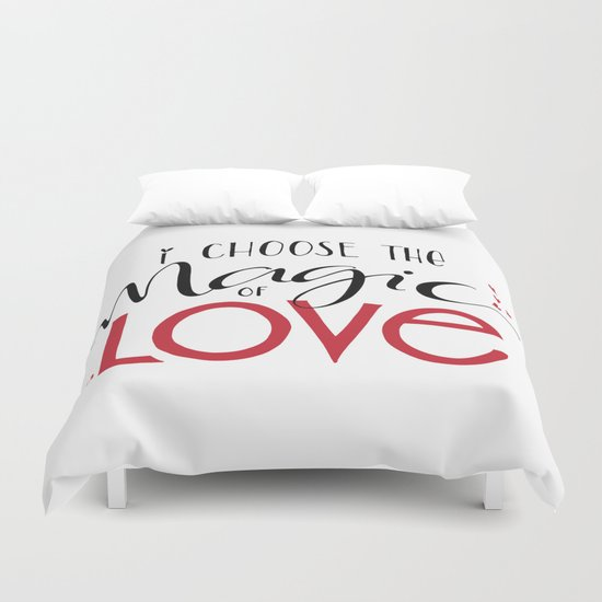 Magic of Love Duvet Cover