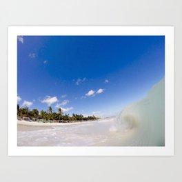 sand wave Art Print