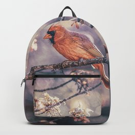 Northern Red Cardinal Spring Backpack