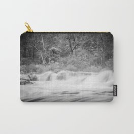 Black and White River Carry-All Pouch