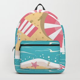 Happy Summer Vacation Backpack