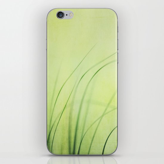 Swaying Grasses (with texture) iPhone & iPod Skin