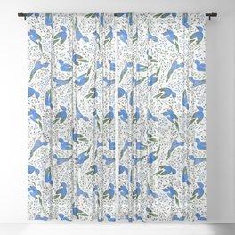 Birds in Summer Sheer Curtain