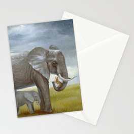 Isabella and the Elephants Stationery Cards