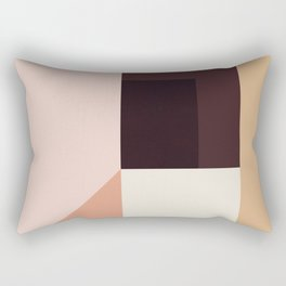 Abstraction_Colorblocks_001 Rectangular Pillow