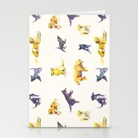 puppies Stationery Cards featuring Puppies! by ascaliers