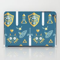 arsenal iPad Cases featuring A Hero's Arsenal by Casa del Kables