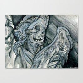 Angelus Mortus Canvas Print