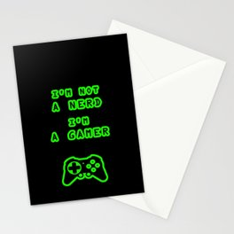 Nerd? Gamer Stationery Cards