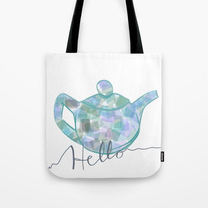 Blue Brew Tote Bag