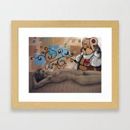childhood protectors Framed Art Print