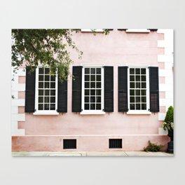 Pink Windows Canvas Print