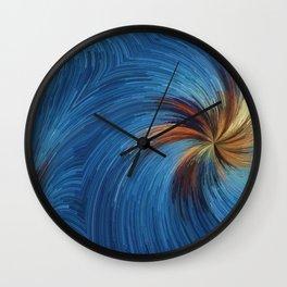 Windy Palms Wall Clock